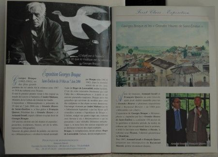 Exposition Georges Braque à Saint Emilion