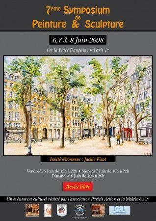 7ème Symposium de Peinture et Sculpture. du 6 au 8 juin 2008
