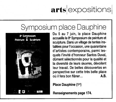 8ème Symposium de Peinture et Sculpture 2009