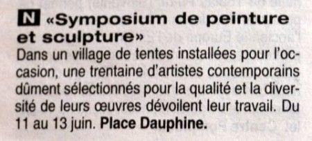 9ème Symposium 2010 de peinture et sculpture
