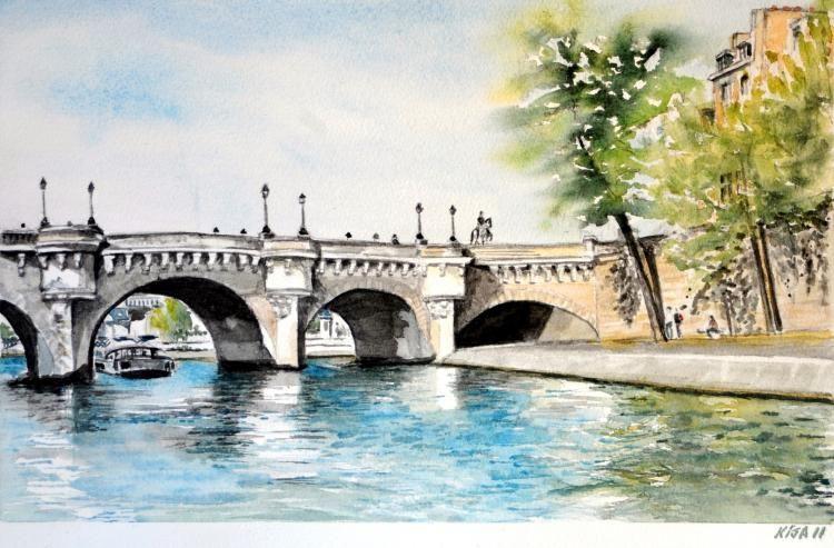 Le Pont Neuf, Paris, France Paris,  Bretagne,  Etats Unis