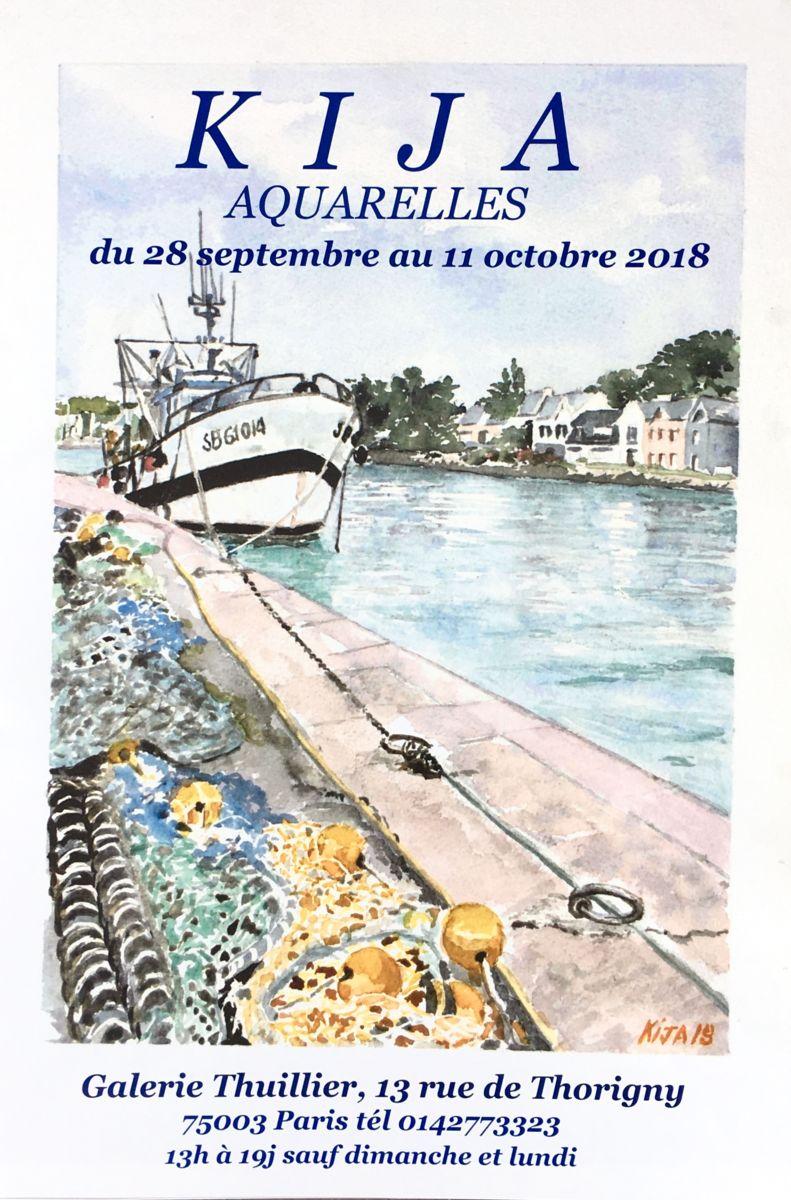 aquarlles, Paris, Etats-Unis, Maroc, aquarelles, Bretagne