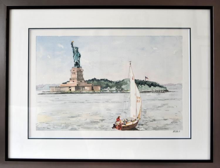 Liberty Island création,  art contemporain